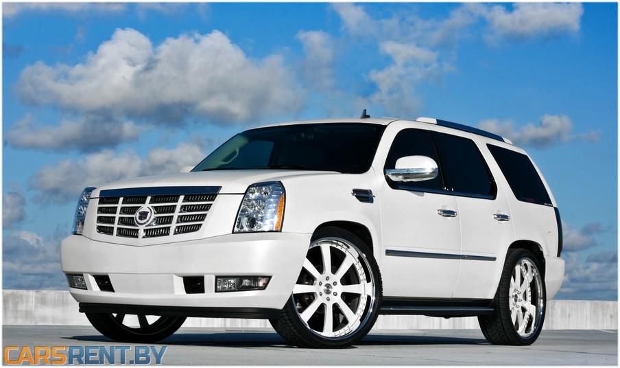 Cadillac escalade аренда на свадьбу